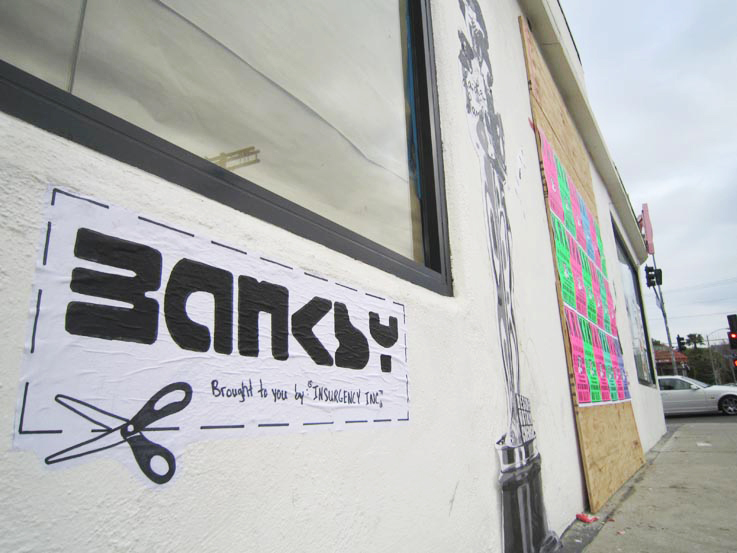 Cut It Out: Banksy by Robin Banksy